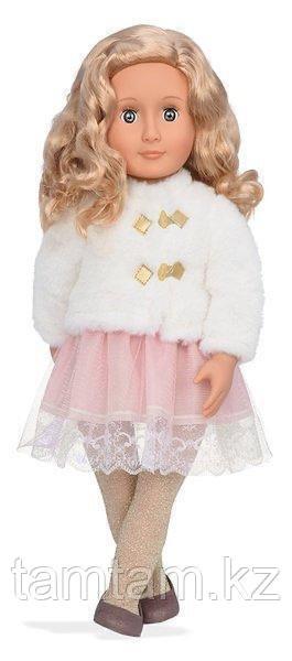 """Our generation"" кукла Галия в белом полушубке/ 46 См/ Канада - фото 3"