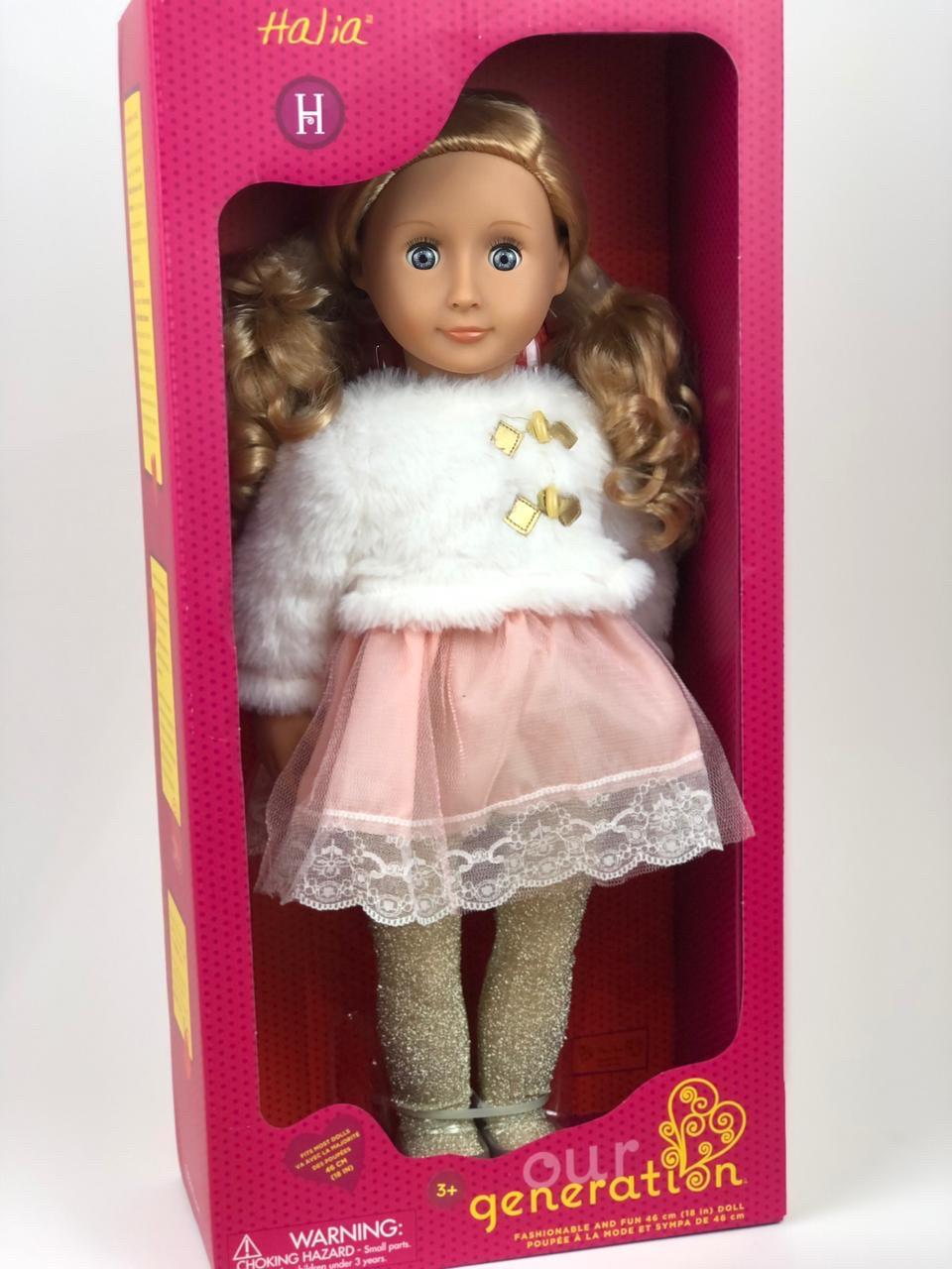 """Our generation"" кукла Галия в белом полушубке/ 46 См/ Канада - фото 2"