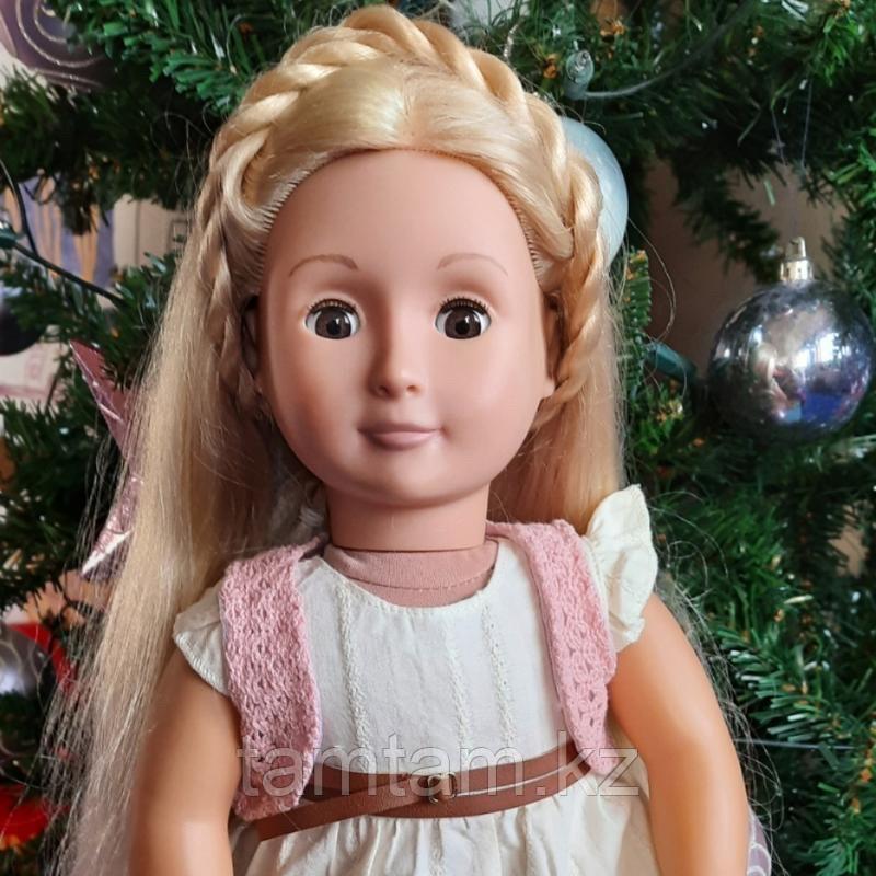 Фиби «Our generation блондинка с растущими длинными волосами/46 см/Канада - фото 6