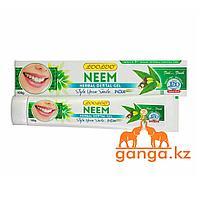 Зубная паста-гель с Нимом (Neem herbal dental gel LOO LOO), 100 гр