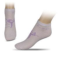 Носки А14-01 для худ.гимнастики с рисунком INDIGO