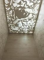 Потолочная резная панель из березовой фанеры