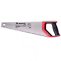 Ножовка по дереву, 400 мм, зуб 2D, каленый крупный зуб 5-6 TPI, двухкомпонентная рукоятка Matrix Master