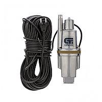 Вибрационный насос СВН300-40, верхний забор, 300 Вт, напор 75 м, 1200 л/ч, кабель 40 м Сибртех