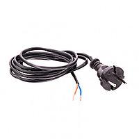 Шнур электрический соединительный, для настольной лампы, 1.7 м, 120 Вт, черный, тип V-1 Россия Сибртех