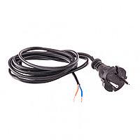 Шнур электрический соединительный, для настольной лампы, 2.2 м, 120 Вт, черный, тип V-1 Россия Сибртех