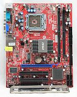 MSI LGA 775 MSI G31TM-P21 Intel G31 2x DDR2 1x PCI-Ex16 2x PCI 4x USB-2.0 4x SATA II 1x IDE Micro-ATX
