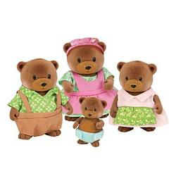 Набор lil woodzeez семья медведей