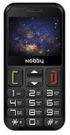 Мобильный телефон Nobby 240B черно-серый