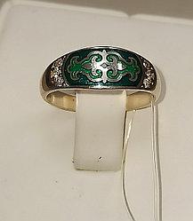 Кольцо Балауса с фианитами / размер 16,5