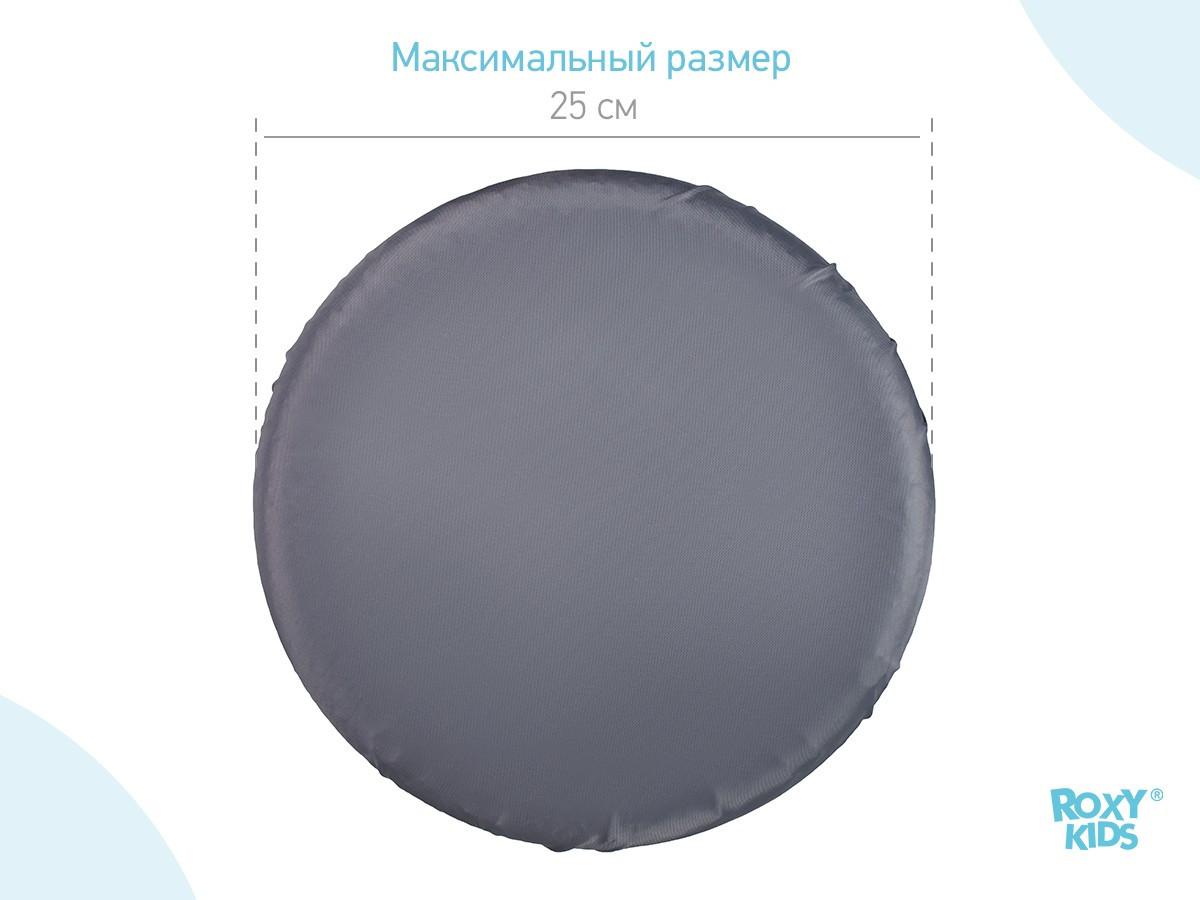 Чехлы на колеса прогулочной коляски, 4 шт. (цвет серый) - фото 3