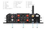 """Усилитель Звука """"Lepy""""  Bluetooth, fm, MP3, 4-8 ом, 2х45 вт., фото 2"""