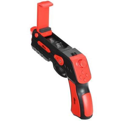 Игровой контроллер Ritmix GP-055BTH Черный/красный