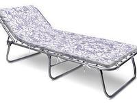 Раскладная кровать с мягким матрасом Nika РК4-М