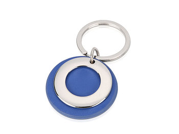 Брелок Корал-Спрингс, синий/серебристый