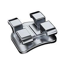 Брекеты Delicate, металлические, с/с ROTH 0,22 в/ч, с хуком 3,4,5