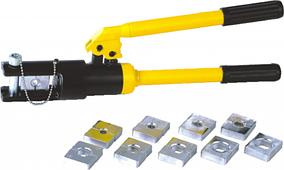 Пресс гидравлический для опрессовки наконечников, гильз и зажимов РиКлайн ПП-НА16300