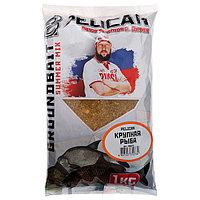 Прикормка PELICAN, крупная рыба, 1 кг