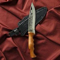 """Нож туристический """"Варан"""" вощеный орех, сталь 40х13"""
