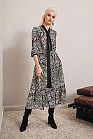 Женское осеннее трикотажное платье Noche mio 1.210 42р.