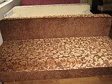 Тахта раскладная коричневая с узорами, фото 2