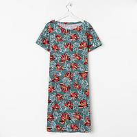 Платье женское, цвет изумруд , размер 50