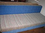 Тахта раскладная синяя с полосками, фото 4