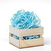 Наполнитель бумажный, голубой, 5 кг