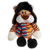 Мягкая игрушка 'Тигр в шапочке', 20 см