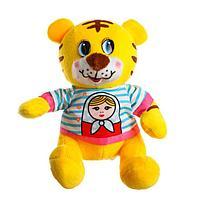 Мягкая игрушка 'Тигр', в футболке