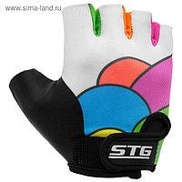Перчатки велосипедные детские STG Candy, размер XS