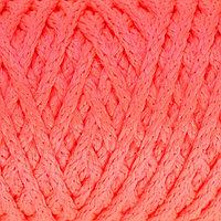 Шнур для вязания 'Классик' без сердечника 100 полиэфир ширина 4мм 100м (роз.люмин.)