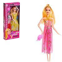 Кукла-модель шарнирная 'Оля' с набором платьев, с аксессуаром, МИКС