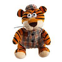 Мягкая игрушка 'Тигр в костюме', 15 см