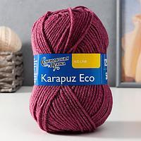 Пряжа Karapuz Eco (КарапузЭко) 90 акрил, 10 капрон 125м/50гр бруснич (51)