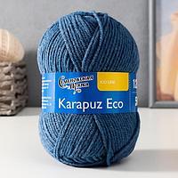 Пряжа Karapuz Eco (КарапузЭко) 90 акрил, 10 капрон 125м/50гр гроза (7297)