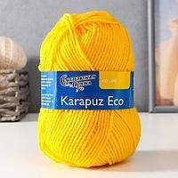 Пряжа Karapuz Eco (КарапузЭко) 90 акрил, 10 капрон 125м/50гр канарейка (216)
