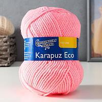 Пряжа Karapuz Eco (КарапузЭко) 90 акрил, 10 капрон 125м/50гр розовый (20)
