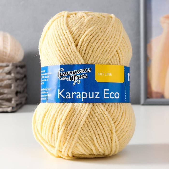 Пряжа Karapuz Eco (КарапузЭко) 90 акрил, 10 капрон 125м/50гр шампанск (772) - фото 1