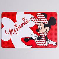Коврик для лепки 'Minnie' Минни Маус, размер 19*29,7 см