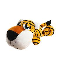 Мягкая игрушка 'Тигр', лежит, 20 см