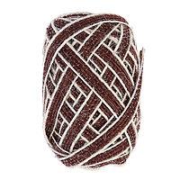 Тесьма декоративная текстиль 'Плоский с полосками' намотка 10 м ширина 0,6 см МИКС (комплект из 12 шт.)