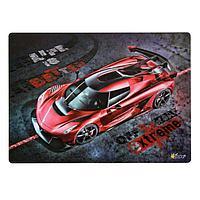 Накладка на стол пластиковая, А4, 339 х 224 мм, 500 мкм, 'Красная машина', КН-4