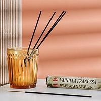 Благовония HEM 'Французская Ваниль.French Vanilla', 20 палочек в упаковке, шестигранник (комплект из 6 шт.)