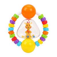 Погремушка - прорезыватель 'Радужный жирафик'