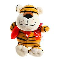 Мягкая игрушка 'Тигр с сердцем', 14 см