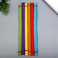 Цветной гофрокартон д/квиллинга 'Деревья' (набор 30 полосок) 6 цветов (комплект из 2 шт.)