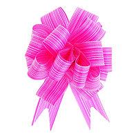 Бант-шар 3 'Тонкие полоски', цвет малиновый (комплект из 30 шт.)