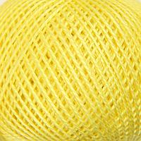 Нитки вязальные 'Ирис' 150м/25гр 100 мерсеризованный хлопок цвет 0204 (комплект из 10 шт.)