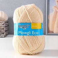 Пряжа Mowgli Eco (МауглиЭко) 90 акрил, 10 капрон 200м/50гр вереск (1445)